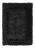Sable 2 Black Shaggy Hand Tufted Rug - 100% Viscose