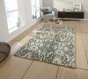 Spectrum Sp83 Beige/blue Modern Hand Tufted Rug - 100% Wool