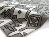 Spectrum Sp83 Grey/silver Modern Hand Tufted Rug - 100% Wool