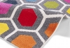 Sunrise 0130a Modern Machine Made Rug - 100% Polypropylene