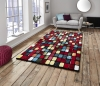 Sunrise 9057a Modern Machine Made Rug - 100% Polypropylene
