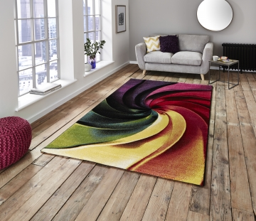 Sunrise Y498a Modern Machine Made Rug - 100% Polypropylene