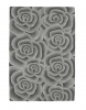 Valentine Vl 10 Light Grey Floral Hand Tufted Rug - 100% Wool