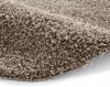 Vista 2236 Beige Circle Shaggy Machine Made Rug - 100% Polypropylene