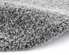 Vista 2236 Grey Circle Shaggy Machine Made Rug - 100% Polypropylene