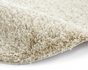 Vista 2236 Light Beige Circle Shaggy Machine Made Rug - 100% Polypropylene