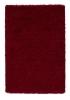 Vista 2236 Red Shaggy Machine Made Rug - 100% Polypropylene