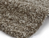 Vista 3547 Beige Shaggy Machine Made Rug - 100% Polypropylene