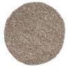 Vista 3547 Beige Circle Shaggy Machine Made Rug - 100% Polypropylene