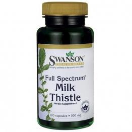 Swanson Premium Milk Thistle 500 Mg - 100 Capsules