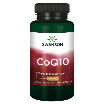 Swanson Coq10 Energy Production & Cardiovascular Health 200mg 90 Capsules