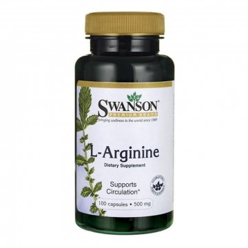 Swanson L-arginine - Supports Circulation